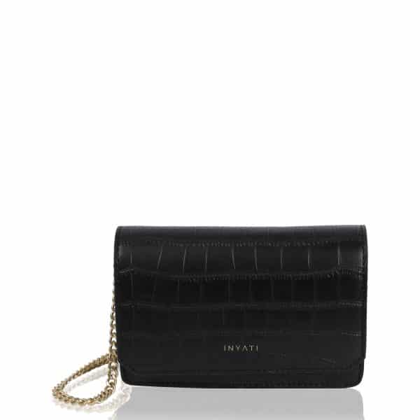 4026 40137 LOTTIE black croco front scaled