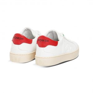 Womsh - Vegan Snik White Red schoenen