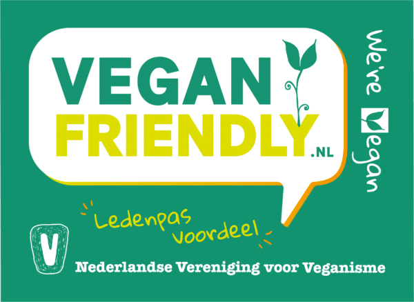 Vegan Friendly - Were Vegan Ledenpas Voordeel