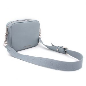 Denise Roobol Messenger bag light blue vegan handtas