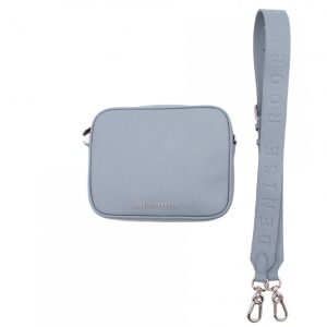 Denise Roobol Messenger bag Metallic light blue front