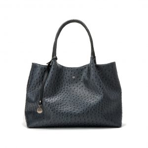 Naomi Dark Grey tote shopper voorkant
